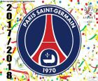 PSG, Meister Ligue 1 2017-2018