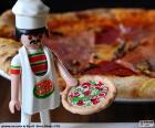 Playmobil-pizza