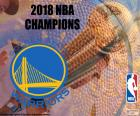 Warriors NBA-Meister 2018 puzzle
