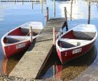 Zwei Ruderboote