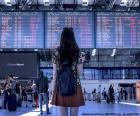 Flughafen-Informationsbereich puzzle