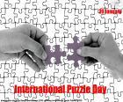 Internationaler Puzzletag