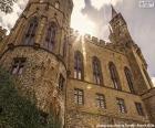 Detail der Burg Hohenzollern, Deutschland