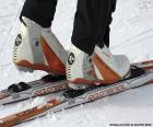 Material der Skilanglauf