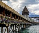 Kapellbrücke, Schweiz puzzle