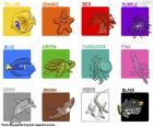 Farben auf Englisch puzzle