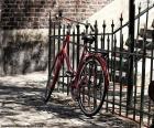 Rotes Fahrrad puzzle