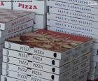 Schachteln für Pizzen zu Hause
