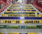 Treppe von Selarén, Brasilien