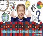 Internationaler Tag der Bildung