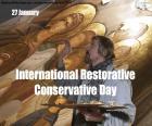 Internationaler Tag der Restaurativen Ko puzzle