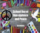 Schultag der Gewaltlosigkeit und des Friedens