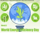 Welttag der Energieeffizienz puzzle