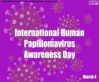 Internationaler Tag der Sensibilisierung humaner Papillomaviren