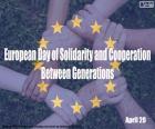 Europäischer Tag der Solidarität und Zusammenarbeit zwischen den Generationen