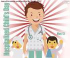 Hospitalisierter Kindertag