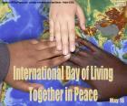 Internationaler Tag des Zusammenlebens in Frieden