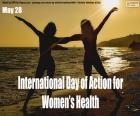 Internationaler Aktionstag für die Gesundheit der Frauen