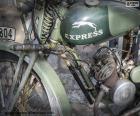 Ein altes Motorrad