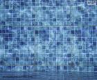 Der Boden eines Pools puzzle