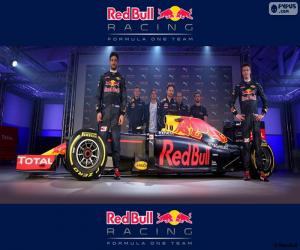 Red Bull Racing 2016 puzzle