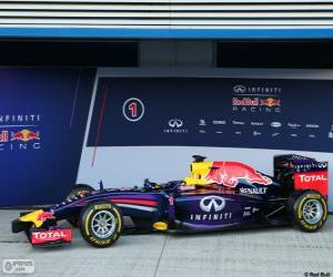 Red Bull RB10 - 2014 - puzzle