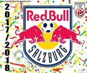 Red Bull Salzburg, Bundesliga 2017-18 puzzle