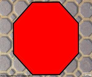Regelmäßiges Achteck puzzle