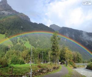 Regenbogen puzzle