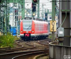 Regionalbahn puzzle
