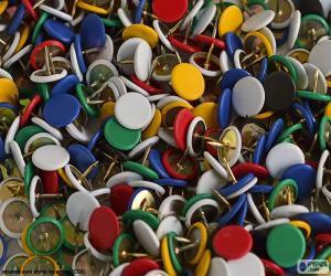 Reißzwecken puzzle