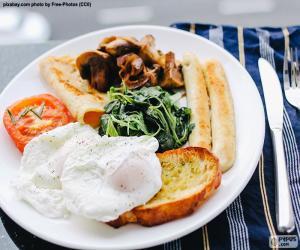Reichhaltiges Frühstück puzzle