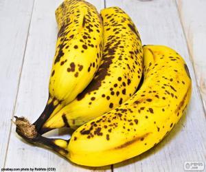 Reife Bananen puzzle