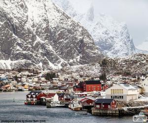 Reine, Norwegen puzzle