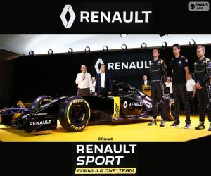 Renault Sport F1 2016 puzzle