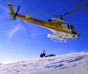 Rettungs-Hubschrauber puzzle