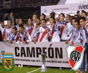 River Plate, meister Torneo Final Argentinienn 2014 puzzle
