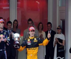 Robert Kubica - Renault - Monte-Carlo 2010 (3. Platz) puzzle