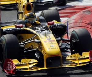 Robert Kubica - Renault - Monza 2010 puzzle