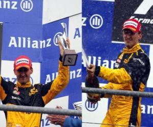 Robert Kubica - Renault - Spa-Francorchamps, Belgien Grand Prix 2010 (3. Platz) puzzle