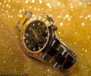 Rolex-Uhr puzzle