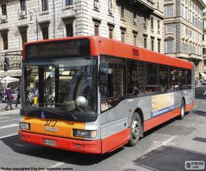 Rom-Stadtbus puzzle