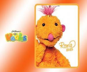 Roma ist die Hoob wer reist rund um die Welt puzzle
