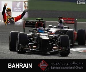 Romain Grosjean - Lotus - 2013 Bahrain Grand Prix, 3. klassifiziert puzzle