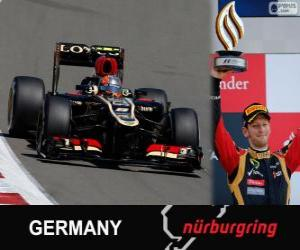 Romain Grosjean - Lotus - German Grand Prix 2013, 3. klassifiziert puzzle