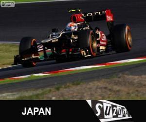 Romain Grosjean - Lotus - Großer Preis Japan 2013, 3. klassifiziert puzzle