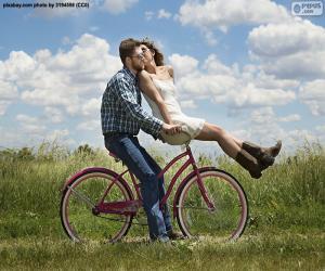 Romantische Radtour puzzle