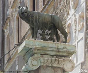 Romulus und Remus puzzle