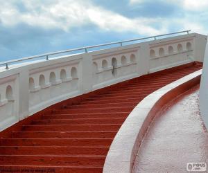 Rote Stufen puzzle