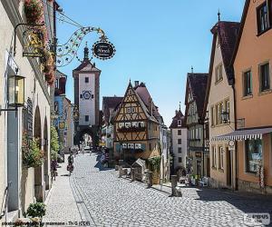 Rothenburg, Deutschland puzzle